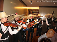 Another image of Jason Geh's Mariachi / Mexican band performing live at the event