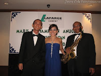 An image of Jason Geh's three piece Jazz Band / Event Band taken after their performance