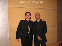 Jason Geh and Man Bai