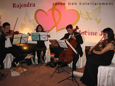 String Quartet performance
