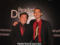 Emcee Patrick Teoh and music director Jason Geh