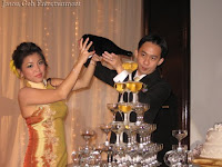 Wedding couple Kar Fai and Khin Ping
