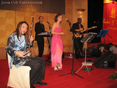 Wedding singers and live band in Malaysia
