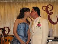 Wedding couple Christina and Tristan
