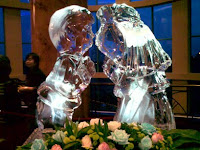 Ice carving by Sunway Resort