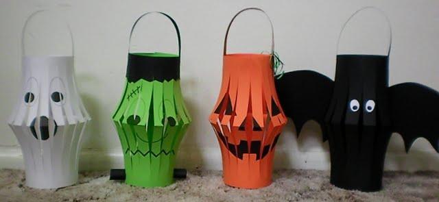 Just Lu Halloween Paper Lanterns