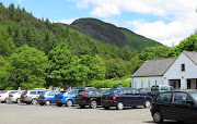 This is a view from the car park at Balmaha. On every previous occasion, .