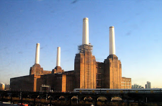 Battersea Power Station outside of London