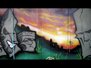 Toronto Kensington Market Graffiti Piece