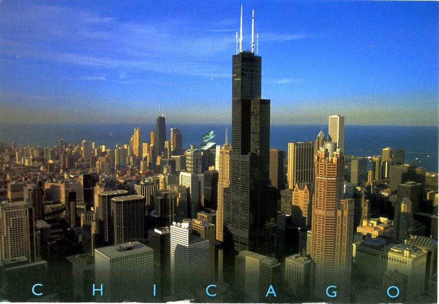 Architectures de cartes postales 1: Chicago par procuration