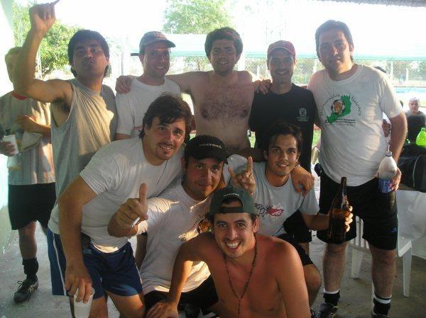 Algunos miembros del D en el regional de Chaco 2008