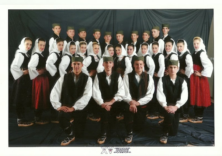 Ansamblul Sfantul Sava din Sannicolau Marela Festivalul international de folclor al sarbilor