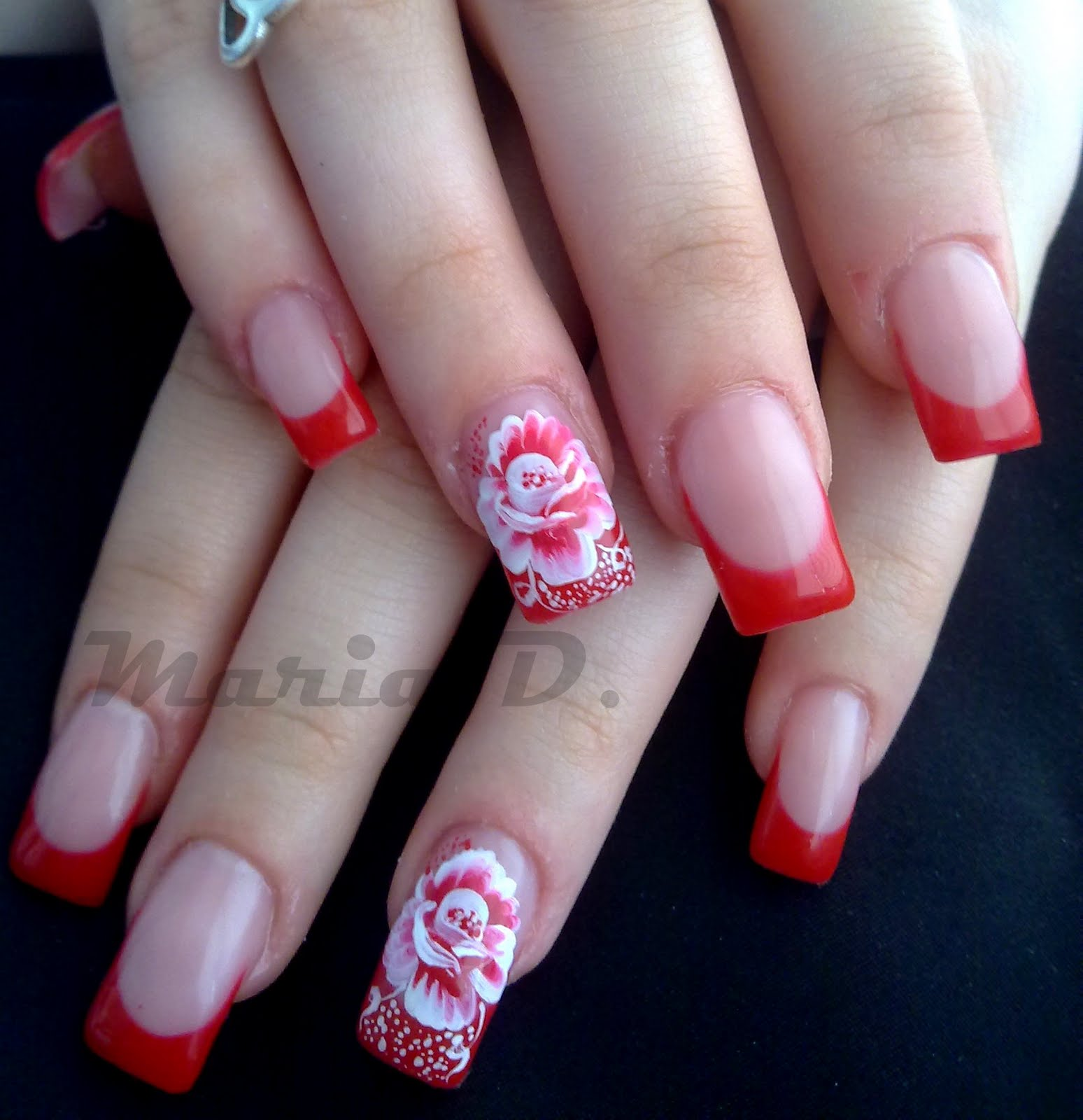 Pink & White Nails in Riverview   Pink & White Nails (813) 653