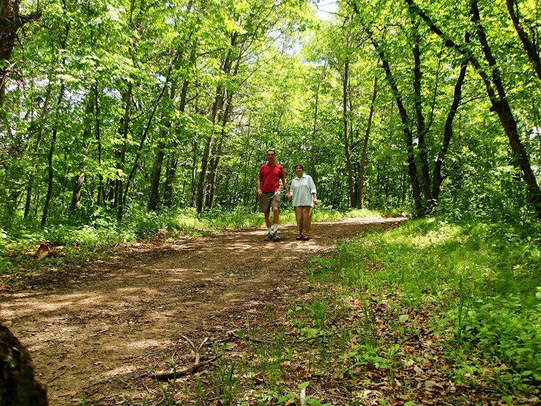 Walking the Path at the RV Park