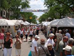 Art Festival in Ann Arbor, MI