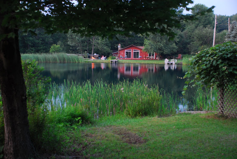 Lavern and Bob's House Across the Pond in Upper PA