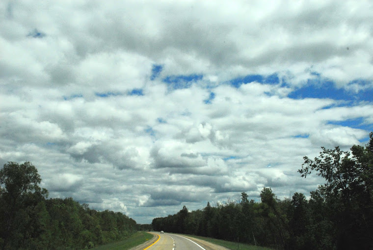 Billowing Clouds on Our Way to Niagara