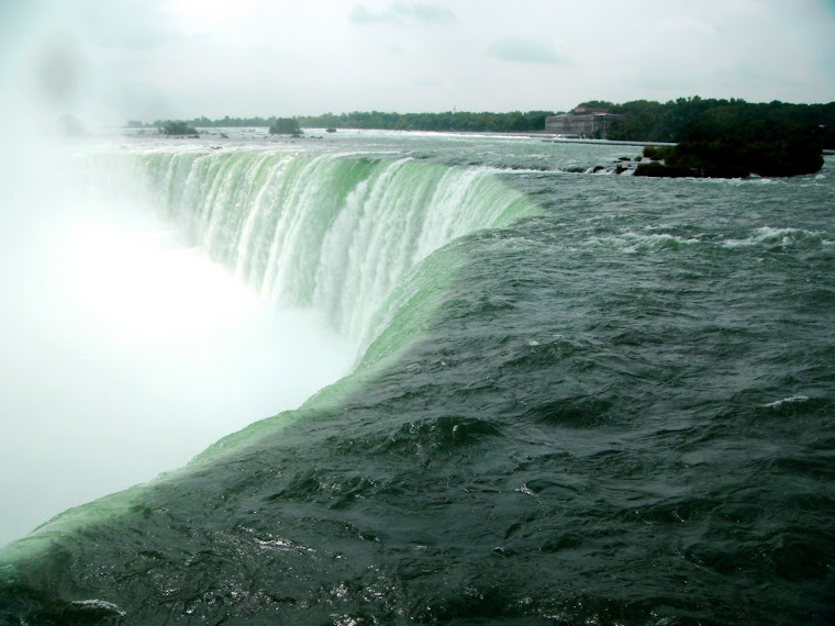 Water Going Over the Falls