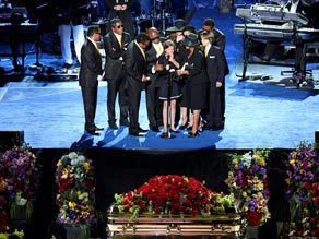 micheal jackson funeral
