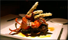 Metro Grille Filet Mignon with Lobster