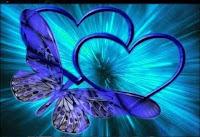 Blue Heart Desktop Wallpapers