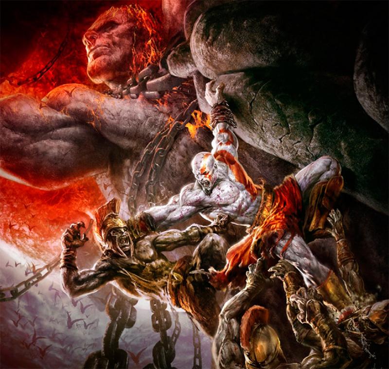 God of War - Incriveis imagens do Deus da Guerra