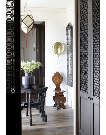 Fretwork doors