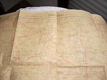 Mapa de Estrada em Pano