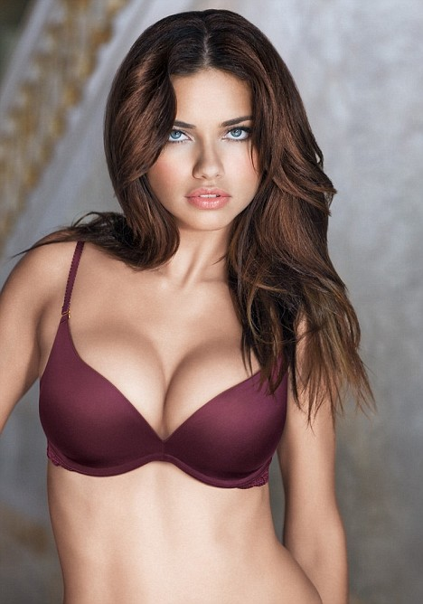 adriana lima push up bra
