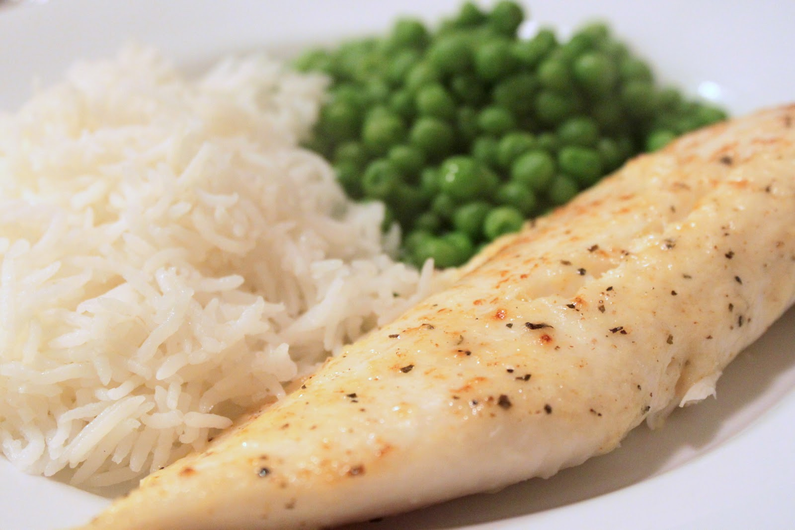 The Cook Next Door: Broiled Tilapia Parmesan