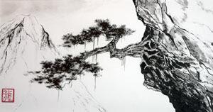 Présentation de la voie Tch'an Peinture+-sumi-e