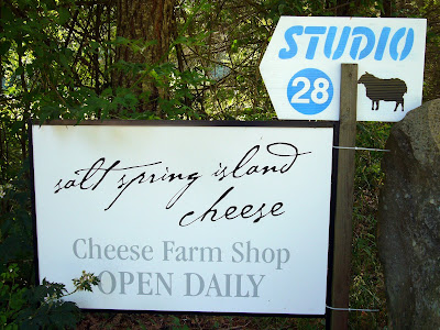 Salt Spring Island Cheese