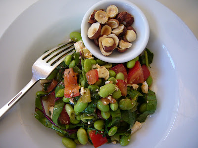 Diane Thompson's edamame salad