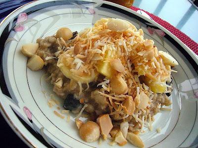 Hawaiian style porridge