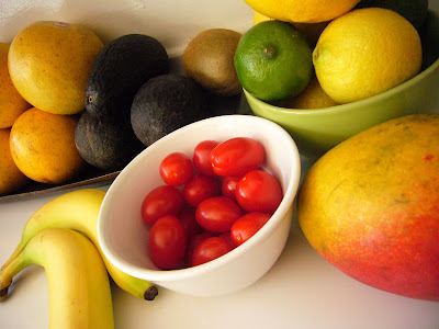 raw diet fruit counter