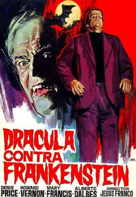 Drácula contra Frankenstein movie