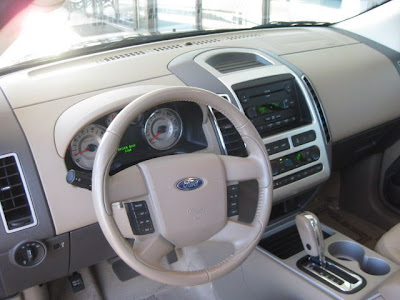 2007 Ford Edge Interior. Interior: Being a new key