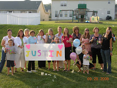 Cousin's in MO that couldn't make Justin's party