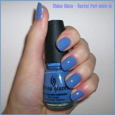 Swatch: China Glaze No.683 SECRET PERI-WINK-LE