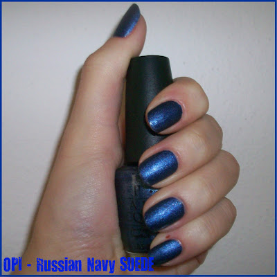 Swatch: OPI No.NN R54 RUSSIAN NAVY SUEDE