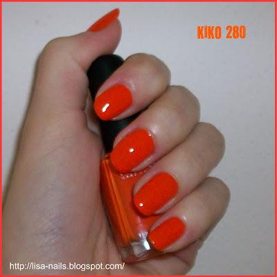 Swatch: KIKO No. 280