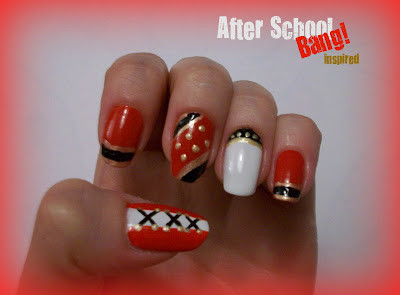 Kpop Nails | After School's Bang! Inspired