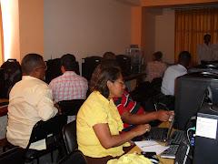 Primer taller capacitación en informática a docentes vinculados al Proyecto EGC