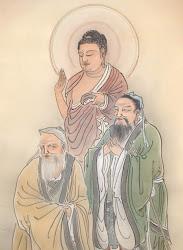 Buddha, Laozi, Confucius