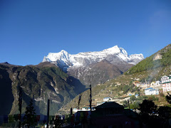 KONDE VIWE FROM NAMCHE