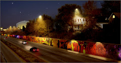 "Mural on wall ""night"""