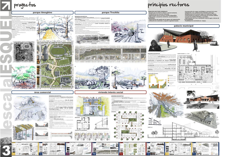 Eescala concurso arquisur universidad del litoral for Programas arquitectura