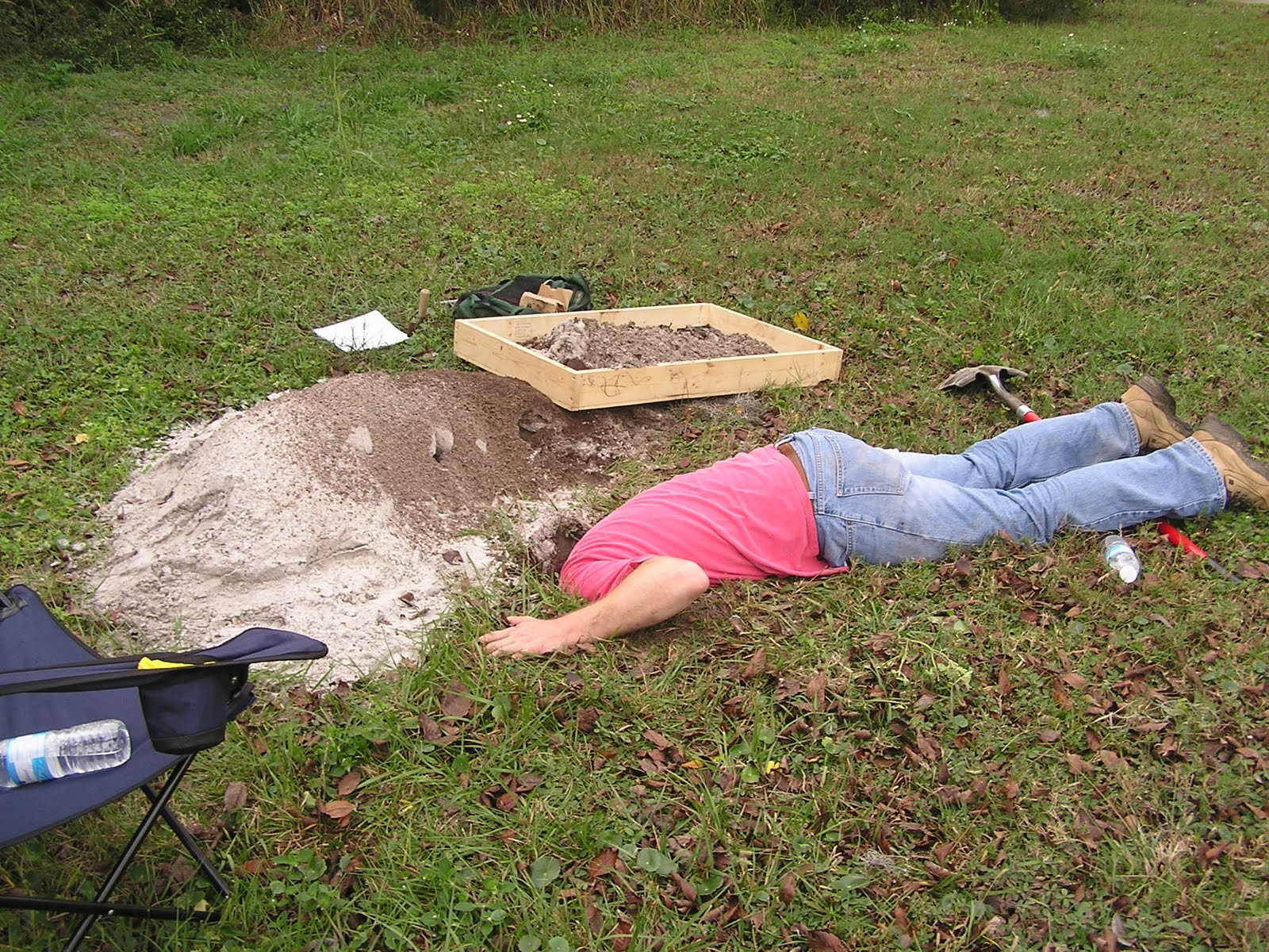 A career in archaeology?