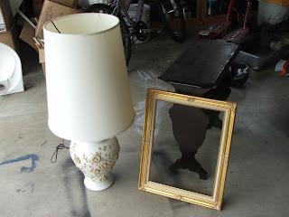 Garage Sale Frame = My favorite piece of ART !