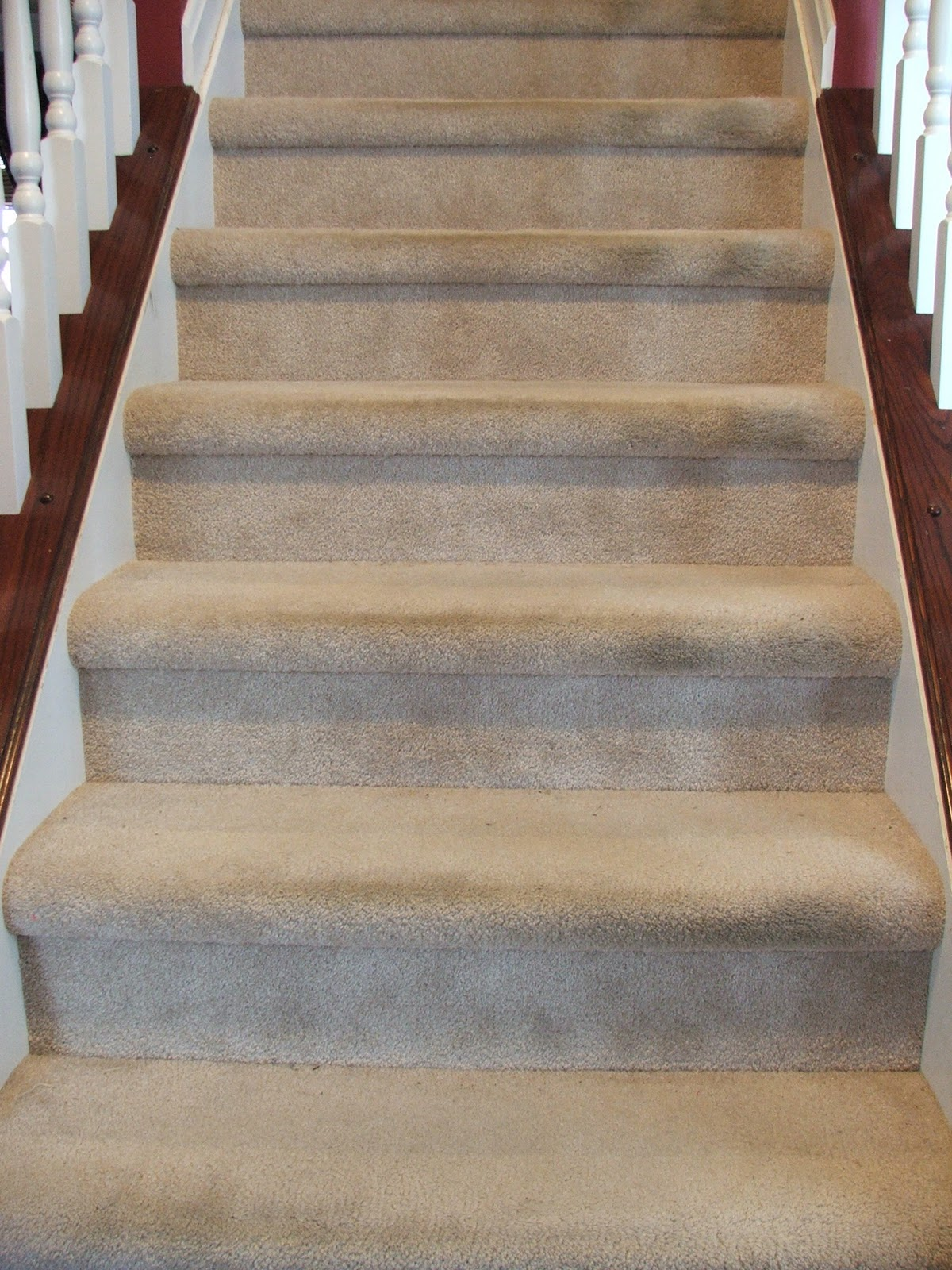 Carpet To Hardwood Stairs The 81 Stair Makeoverrevealed Cleverly Inspired